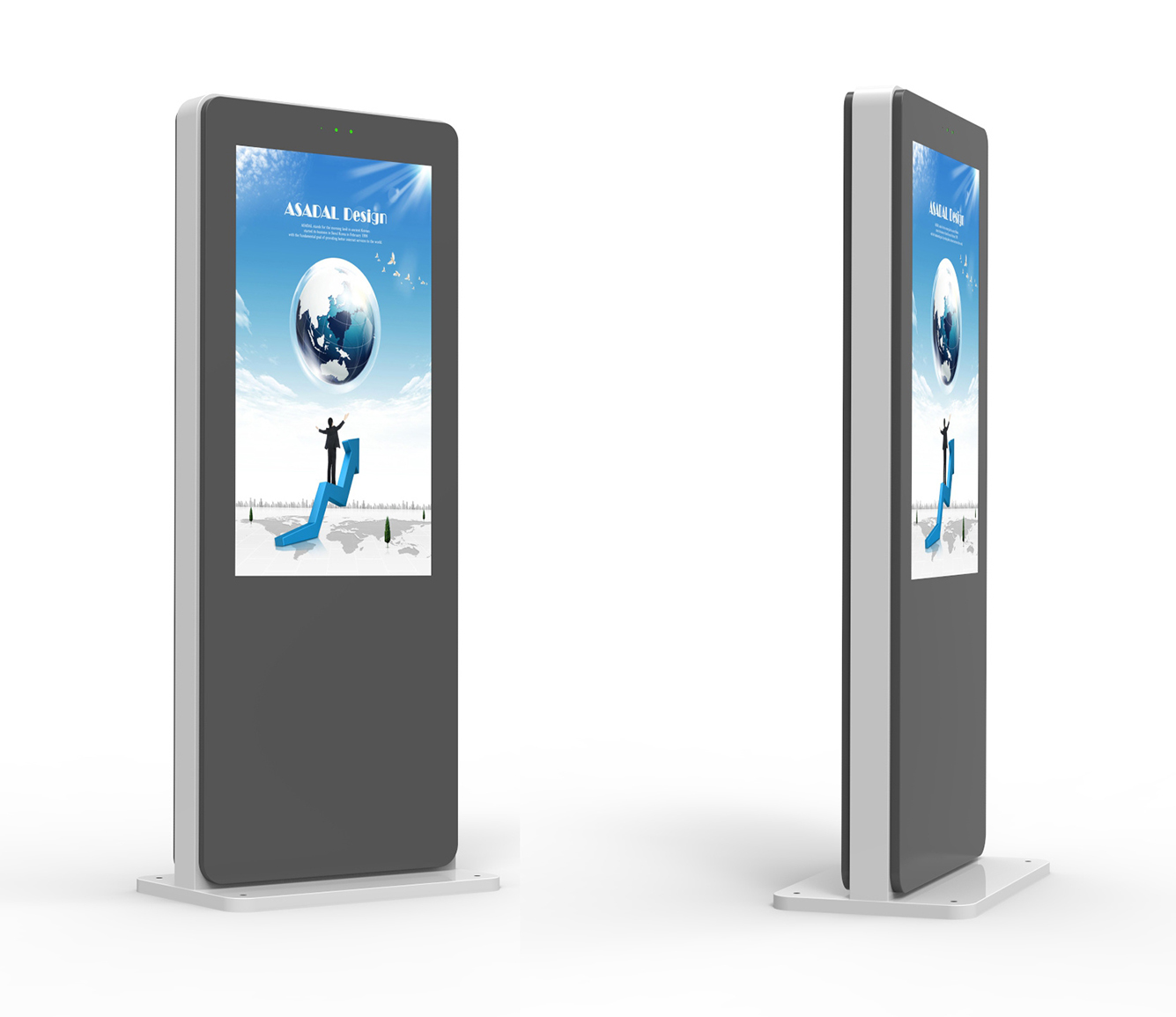 Outdoor 43 Inches High Brightness Interactive Kiosk