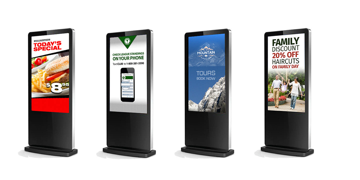 Langley Acrylic DIGITAL SIGNAGE