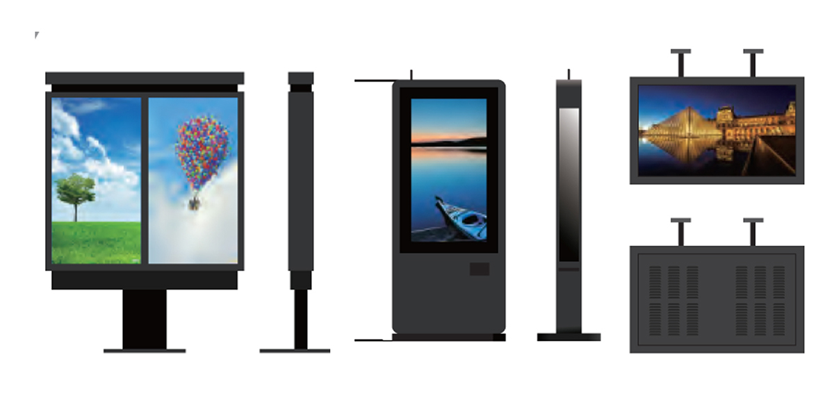 Wall mount Advertising LCD Digital Signage